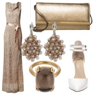 Outfit Golden girl