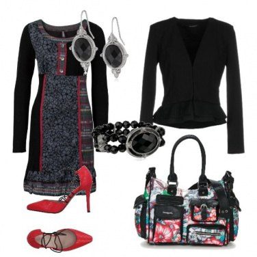 Outfit Back to office with Desigual