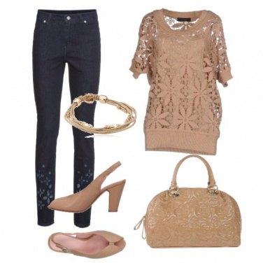 Outfit Nocciola