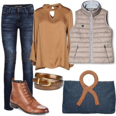 Outfit Denim per borsa e pantaloni