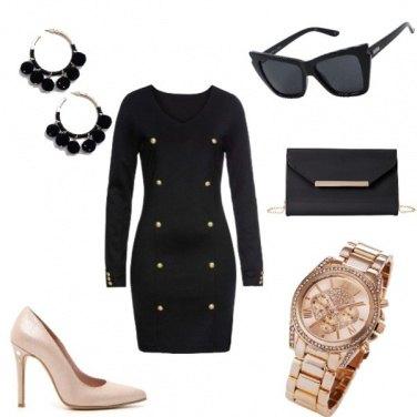 Outfit Tubino nero e non sbagli mai !!!