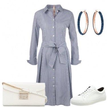 Outfit L'abito-camicia