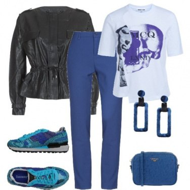 Outfit Giacchino in ecopelle