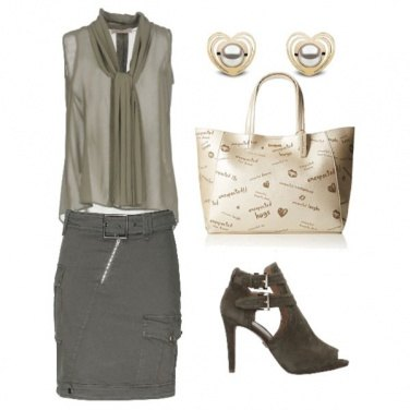 Outfit Verde oliva