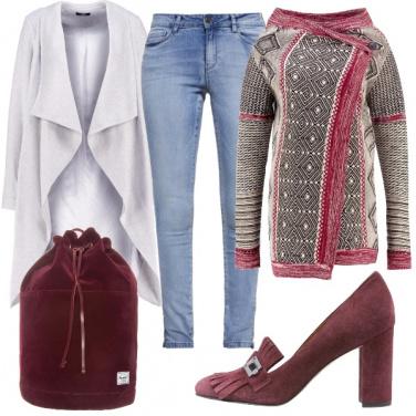 Outfit Velluto nei dettagli