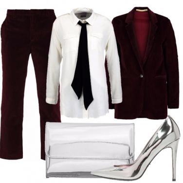 Outfit E\' di rigore il velluto