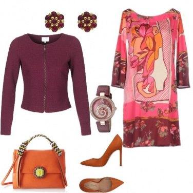 Outfit Mix colori autunnali
