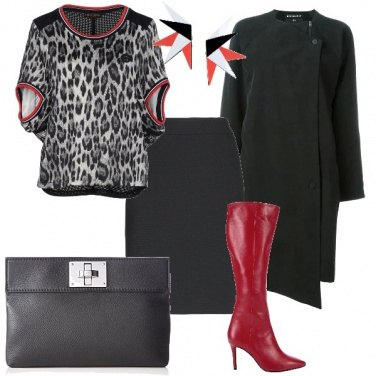 Outfit Lo stivale rosso