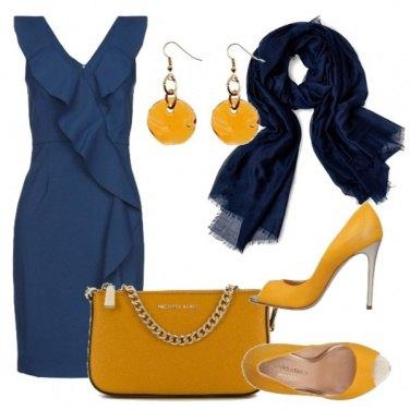 Outfit Orecchini gialli