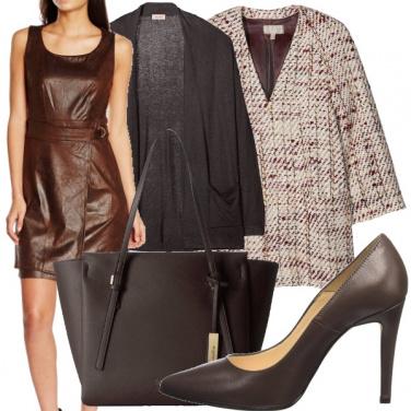 Outfit Nocciola e cacao