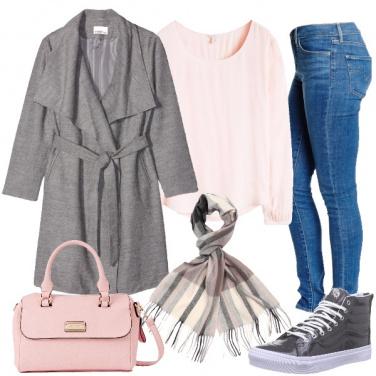 Outfit La donna rosa