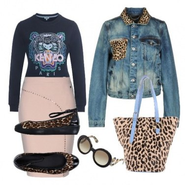 Outfit Donna pantera