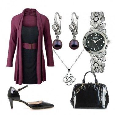 Outfit Accessori in vernice nera