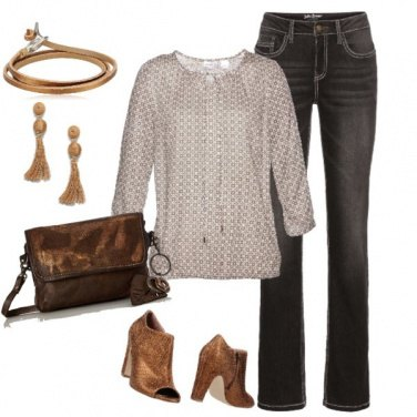 Outfit Sfumature d'oro
