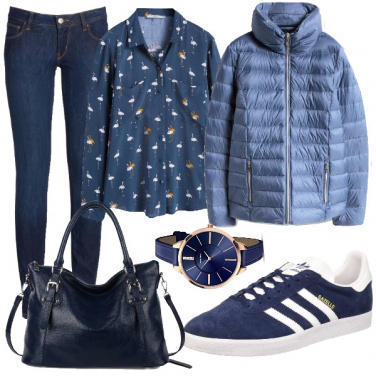 Outfit Molto blu