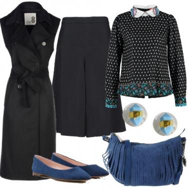 Outfit Gli accessori scamosciati