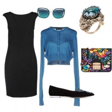Outfit Blue and trendy