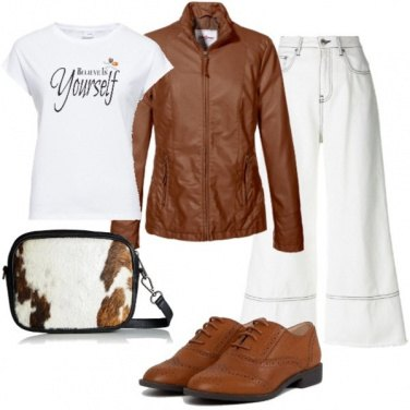 Outfit Borsa in cavallino