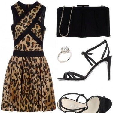 Outfit Leopardo con stile