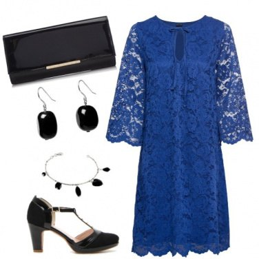 Outfit Abito in pizzo!!
