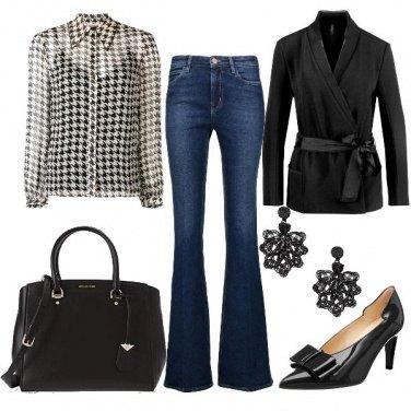 Outfit Pied-de-poule