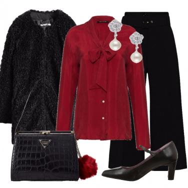 Outfit Eleganza discreta