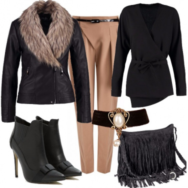 Outfit Velluto sulla pelle