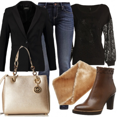 Outfit Blazer glamour