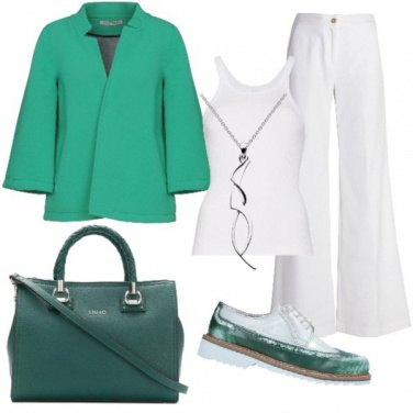 Outfit Green light