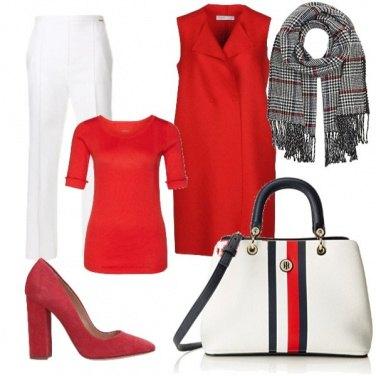 Outfit Rosso per tutte le stagioni