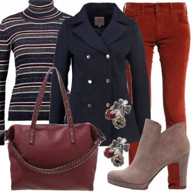 Outfit Colorata in inverno