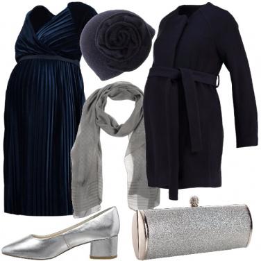 Outfit Cerimonia con il pancione