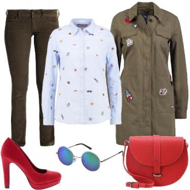 Outfit In ufficio con brio