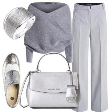 Outfit Grigio raffinato