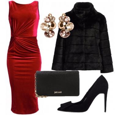 Outfit Serata vellutata