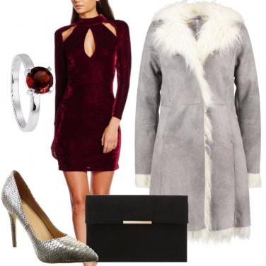 Outfit Avvolta nel velluto