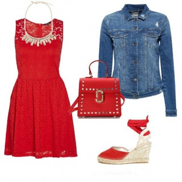 Outfit Red today