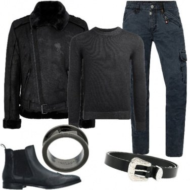 Outfit Biker Rock #339