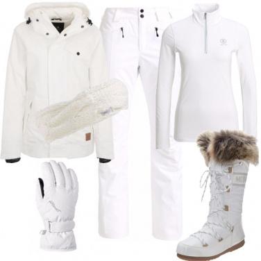 Outfit Settimana bianca