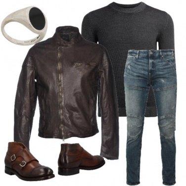 Outfit Biker Rock #342