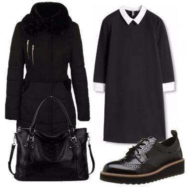 Outfit Comodamente in nero