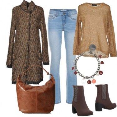Outfit Toni del marrone