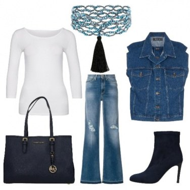 Outfit Donna di jeans