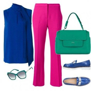 Outfit Intenso blu