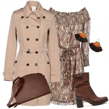 Outfit Trench multi bottone