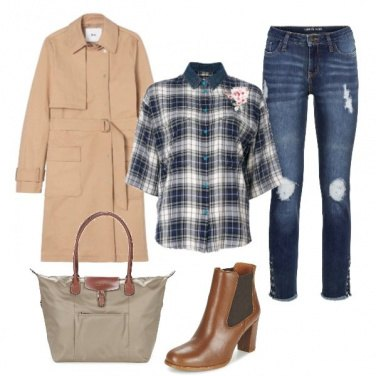 Outfit Il primo trench