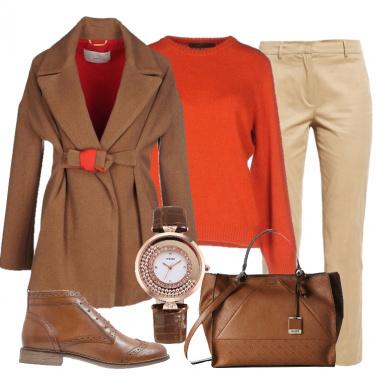 Outfit Un cappotto caldo caldo