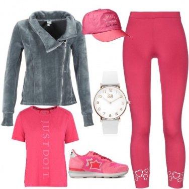 Outfit Otto marzo:Corsa rosa