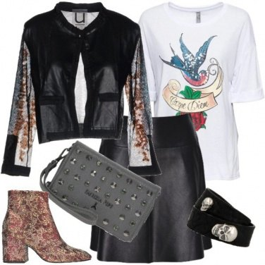 Outfit Rock love