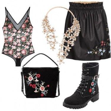 Outfit Settembre floreale